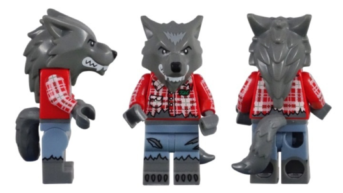 LEGO Wolf Guy Minifigure 71010-1