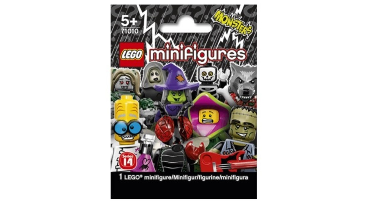 Lego Minifigure Series 14 Lego / Monsters Series 71010 Review