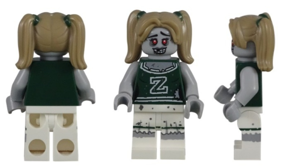 LEGO Zombie Cheerleader Minifigure 71010-8