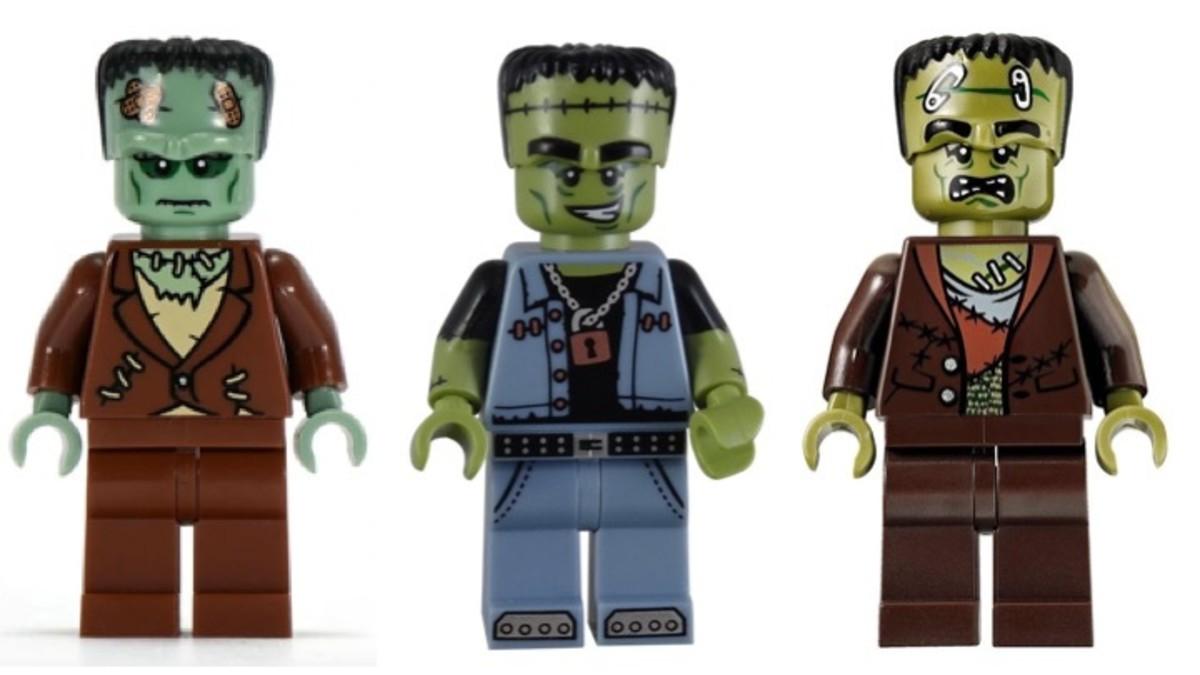 LEGO Frankenstein Monster Minifigures