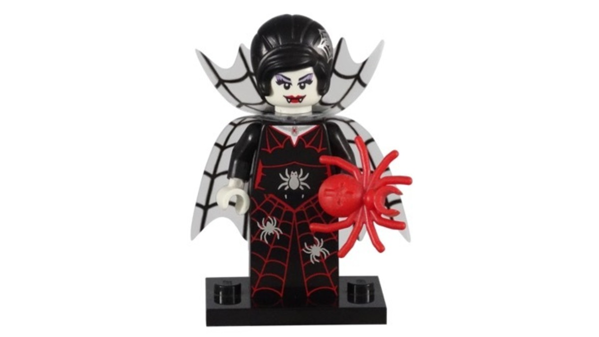 LEGO Minifigure Series 14 Spider Lady