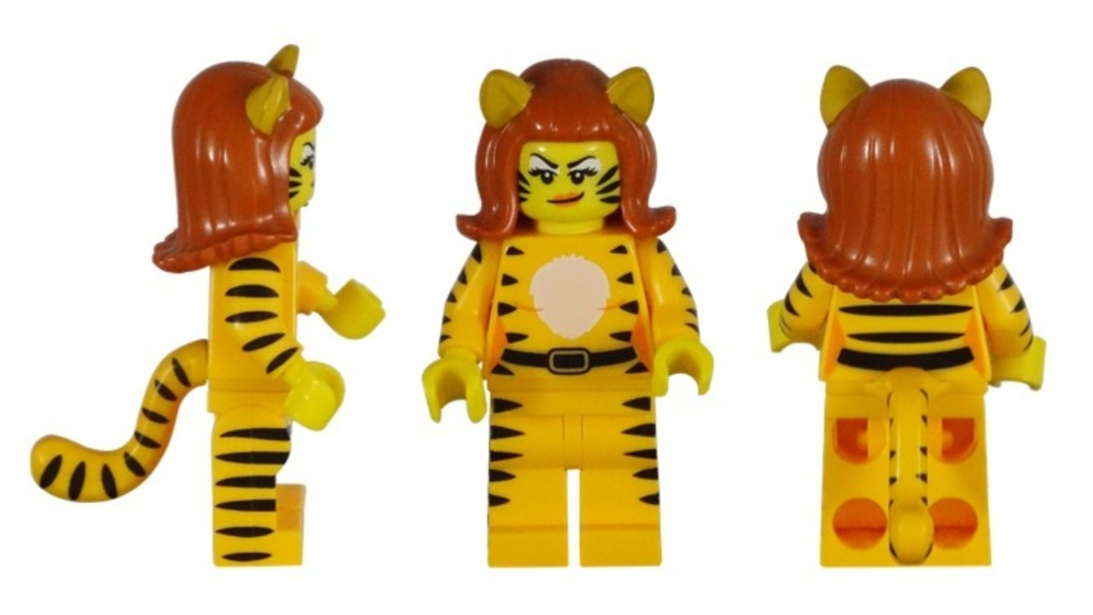 LEGO Tiger Woman Minifigure 71010-9