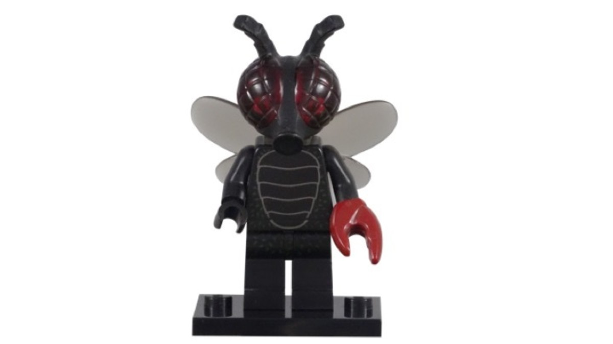 LEGO Minifigure Series 14 Fly Monster