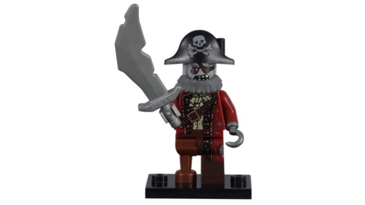 LEGO Minifigure Series 14 Pirate Zombie