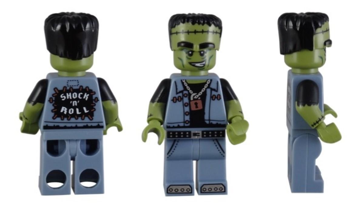 LEGO Monster Rocker Minifigure 71010-12