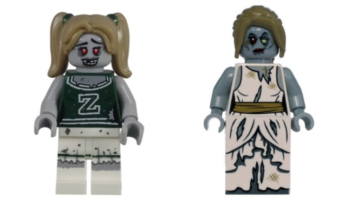 LEGO Female Zombies