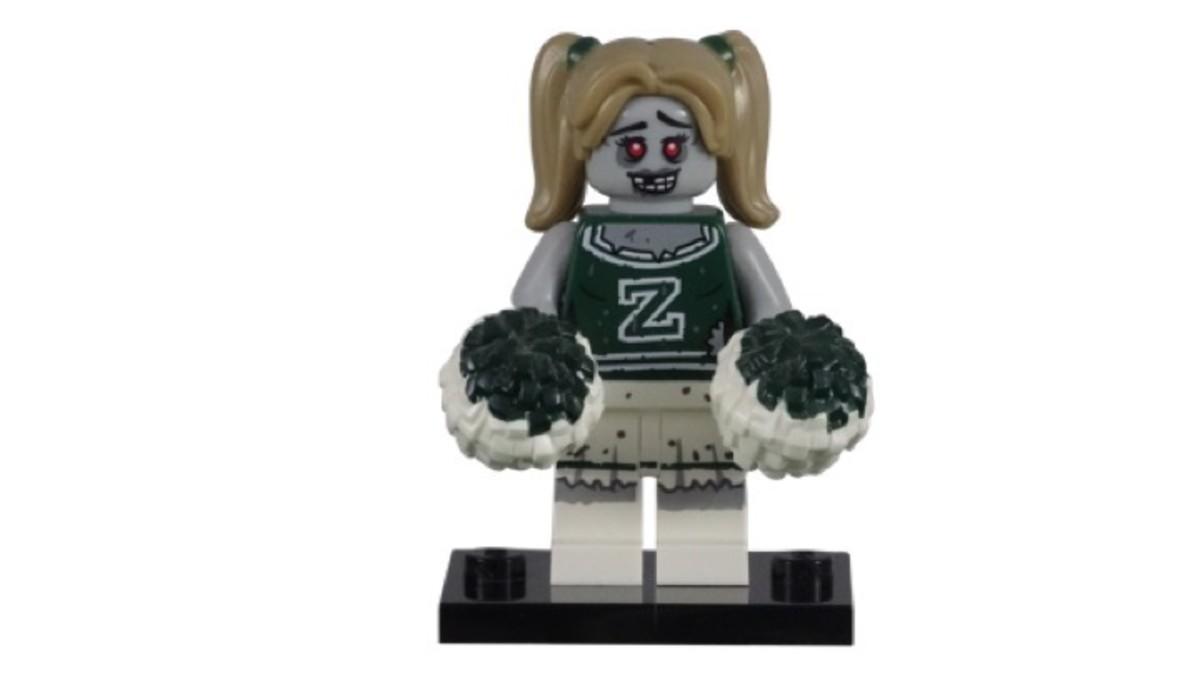 LEGO Series 14 Zombie Cheerleader Minifigure