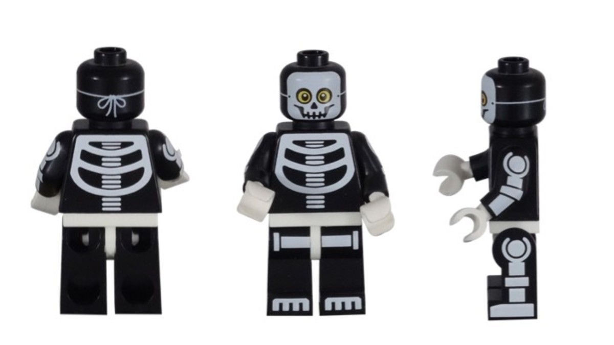 LEGO Skeleton Guy Minifigure 71010-11