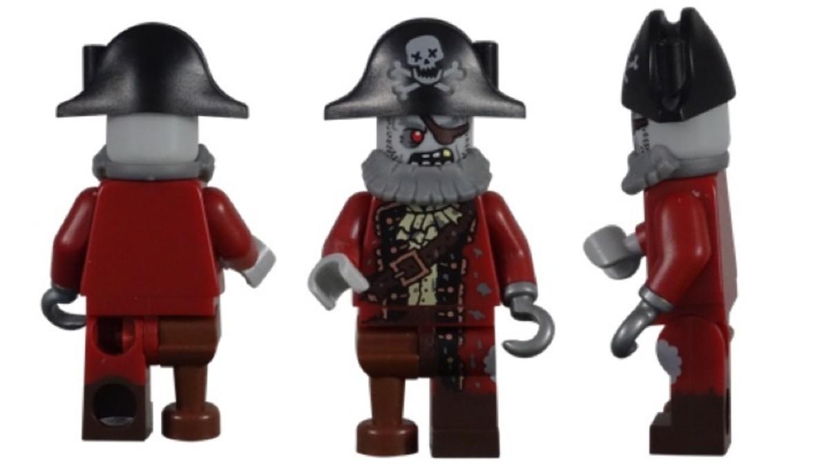 LEGO Zombie Pirate Minifigure 71010-2