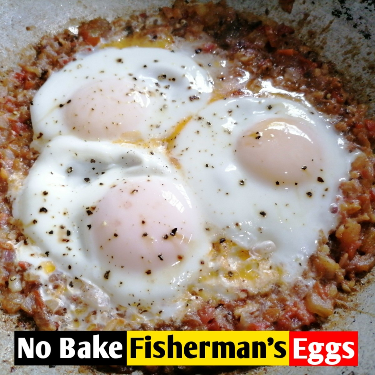 No-bake fisherman's eggs