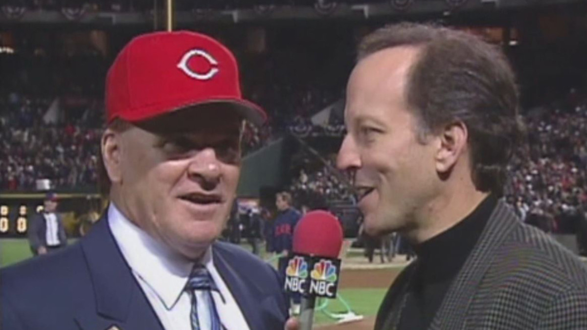 1999 - The Jim Gray Interview. Cringeworthy. 20 years later, Rose admitted to Gray that he still bets on baseball.