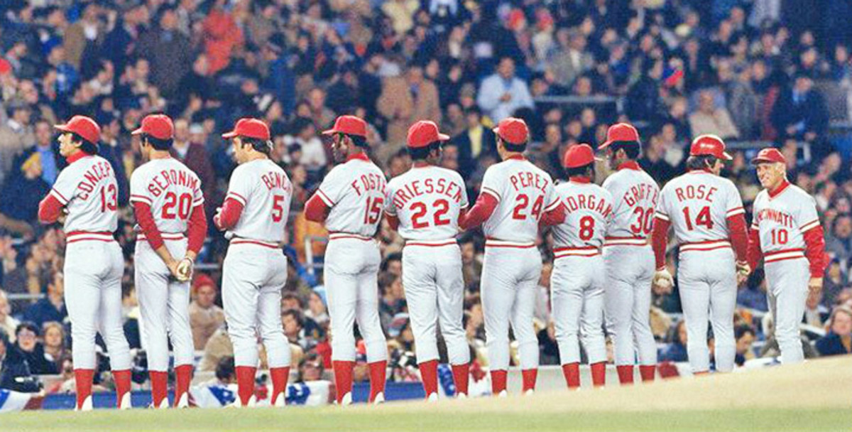 1976 Reds - Rose led off a lineup that had 3 Hall of Famers and several other perennial all-stars.