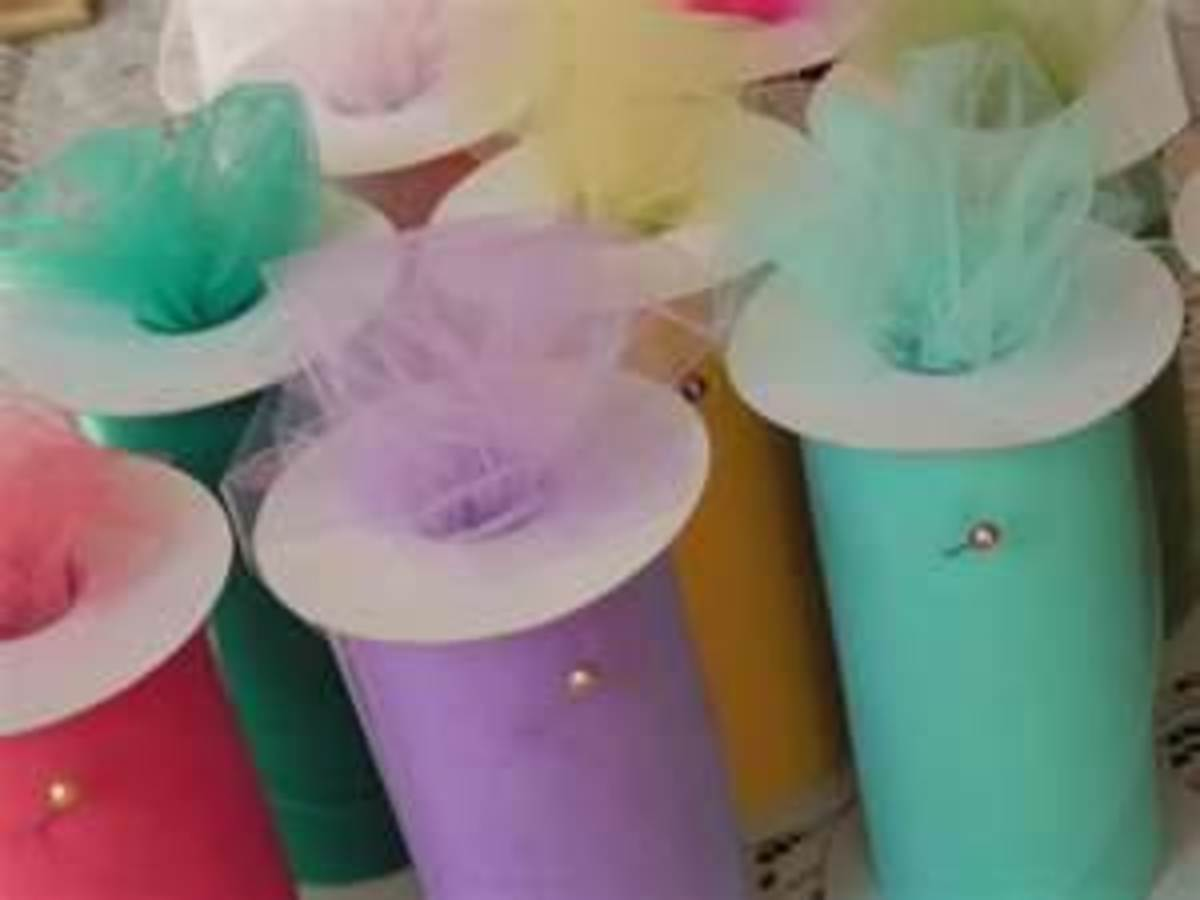 Tulle Ribbons - Need Only Cut the Length.