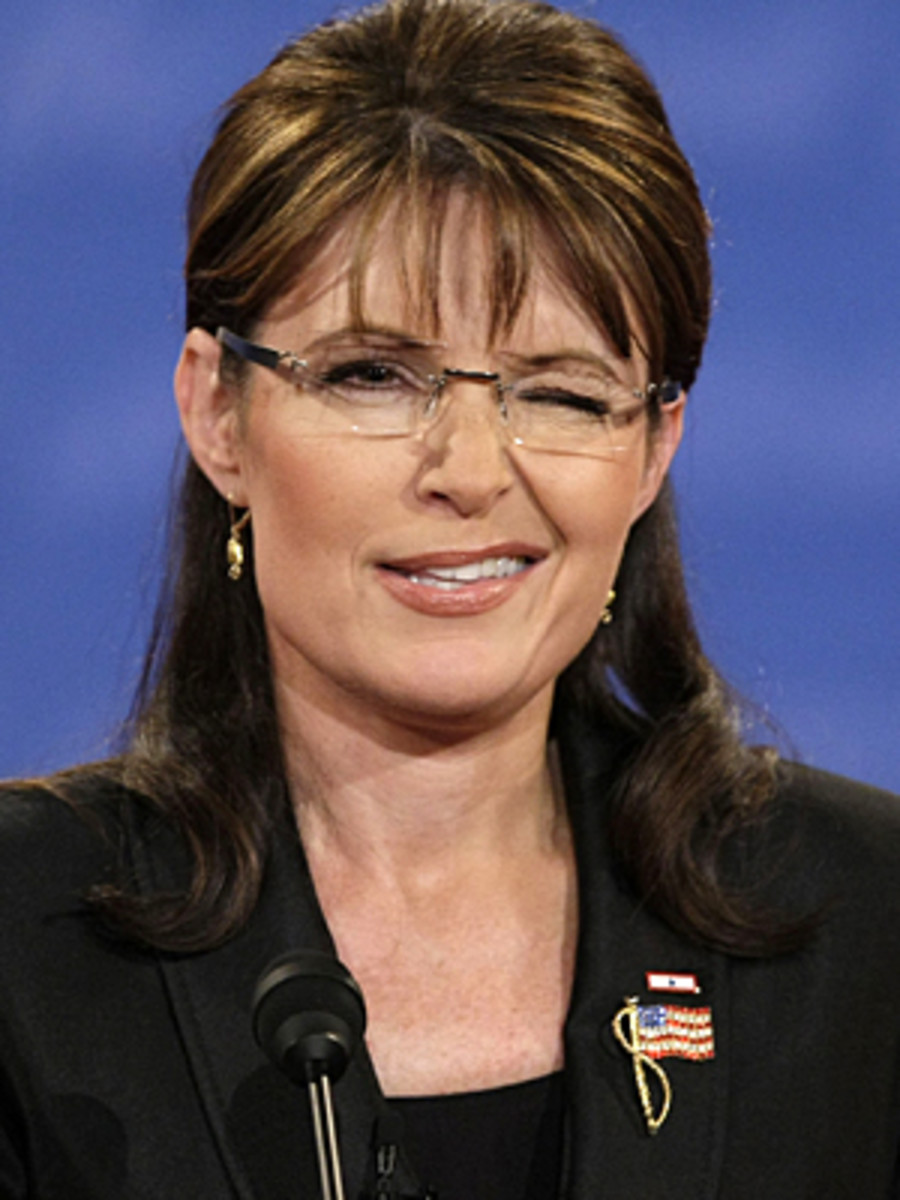 Love her or hate her, Palin knows how to work body language to improve her chances at being liked