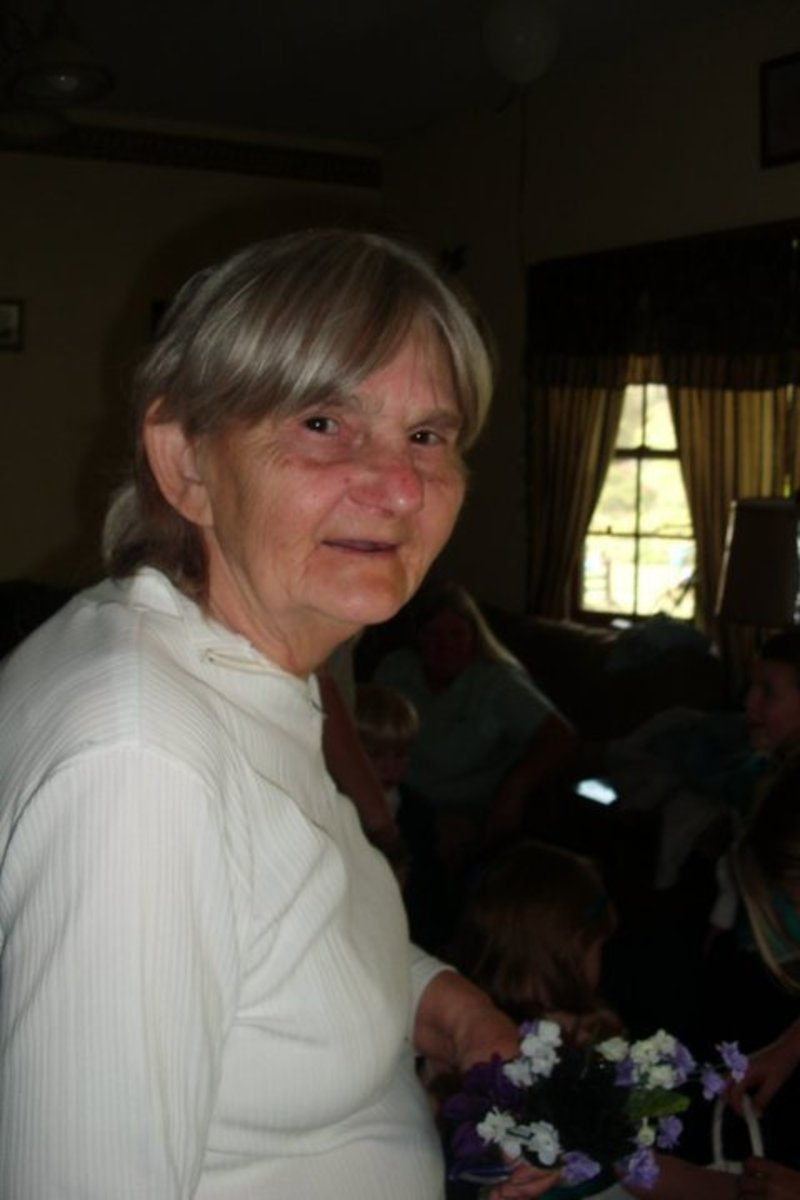 This is my mother-in-law Cecelia Pierce. We lost her Christmas day 2015. Her memory lives on in all who knew her.