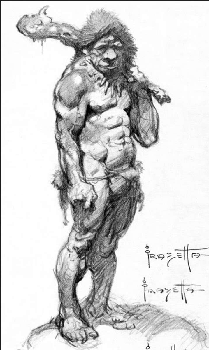 Figure Drawing Artist Paper: The Life, Process and Work of Frank Frazetta