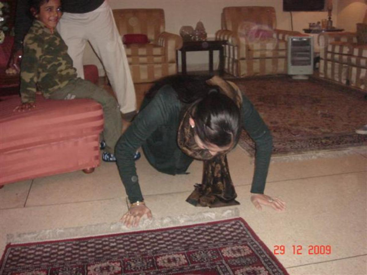 Pushups can be done anywhere. Even at home or in the office in the breaktime