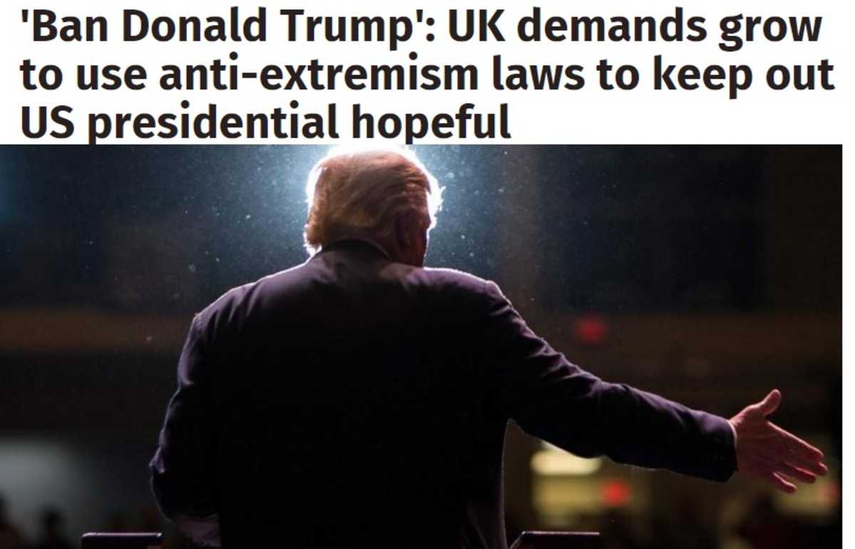 David Cameron took the unprecedented step of intervening in an American election by issuing a scathing rebuke to the front-runner to gain the Republican nomination for the presidency.