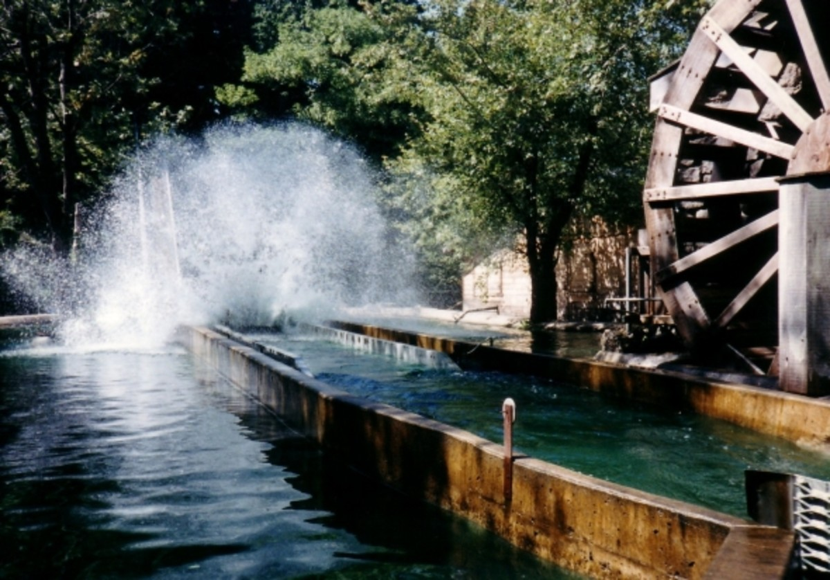 The Sawmill River flume was the last major ride park owners put in. It debuted in 1981.