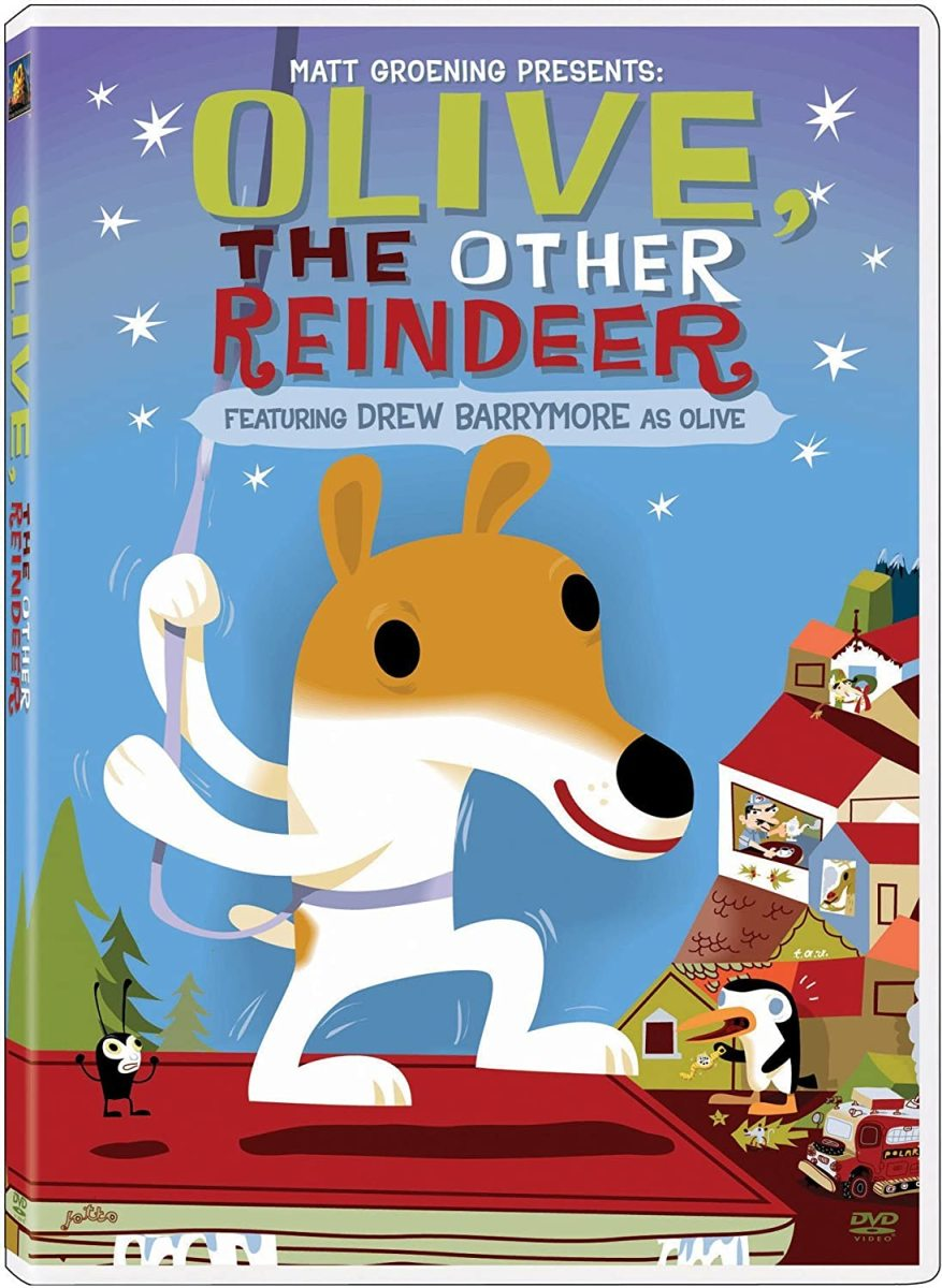 """Olive, the Other Reindeer"" DVD Cover"