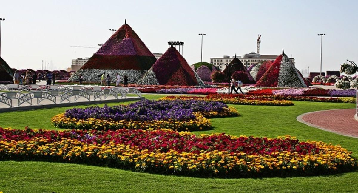 Floral Pyramids