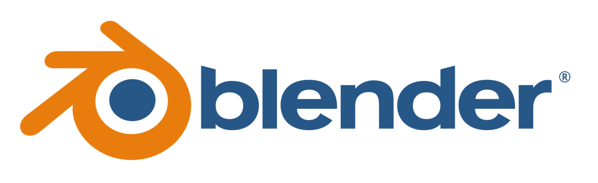 The above image is the Logo for Blender
