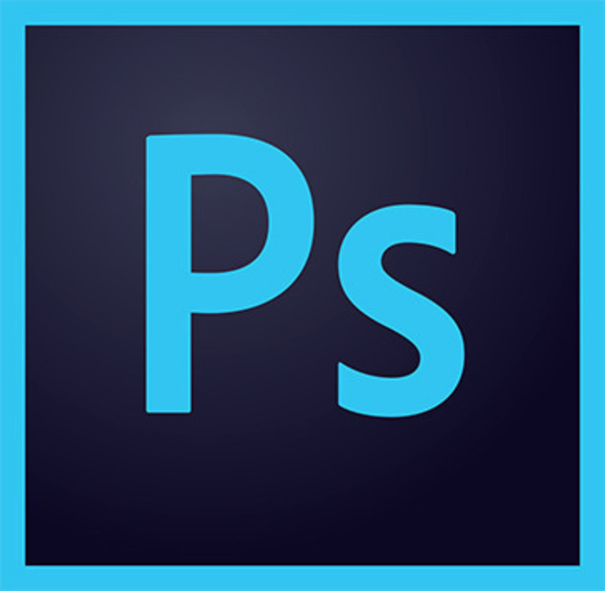 The above image is the logo for Adobe Photoshop