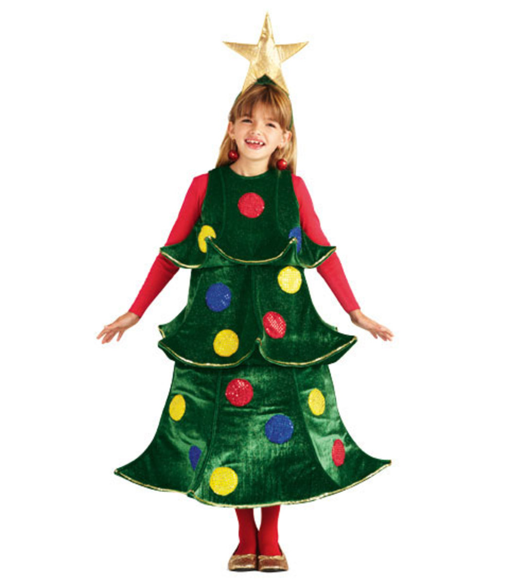 Christmas Tree Costume Ideas and Inspiration H0uoMuLN