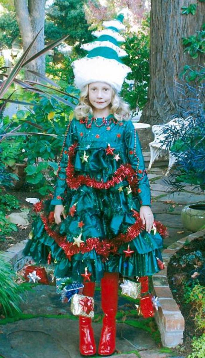 Christmas Tree Costume Ideas and Inspiration