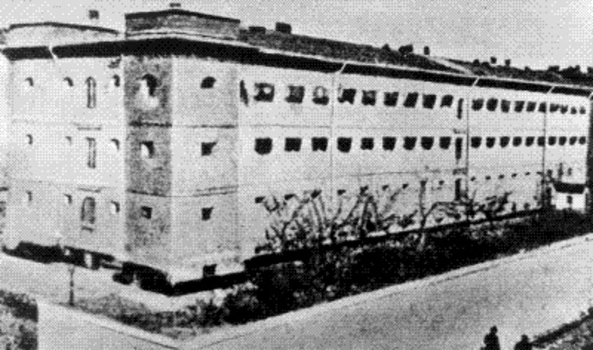 The Pawiak Prison.