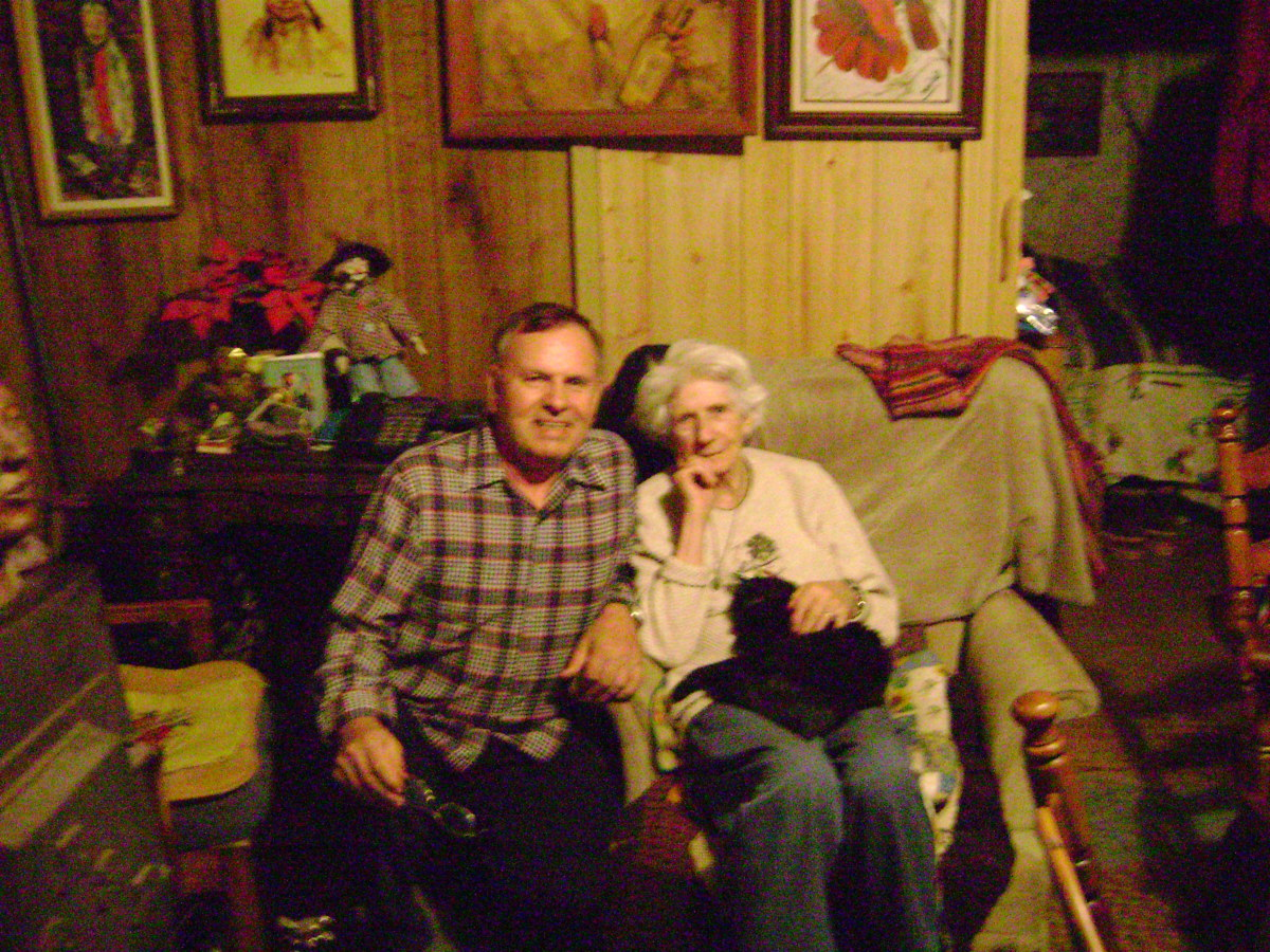 Picture taken in April 2008 3 years before mom's death