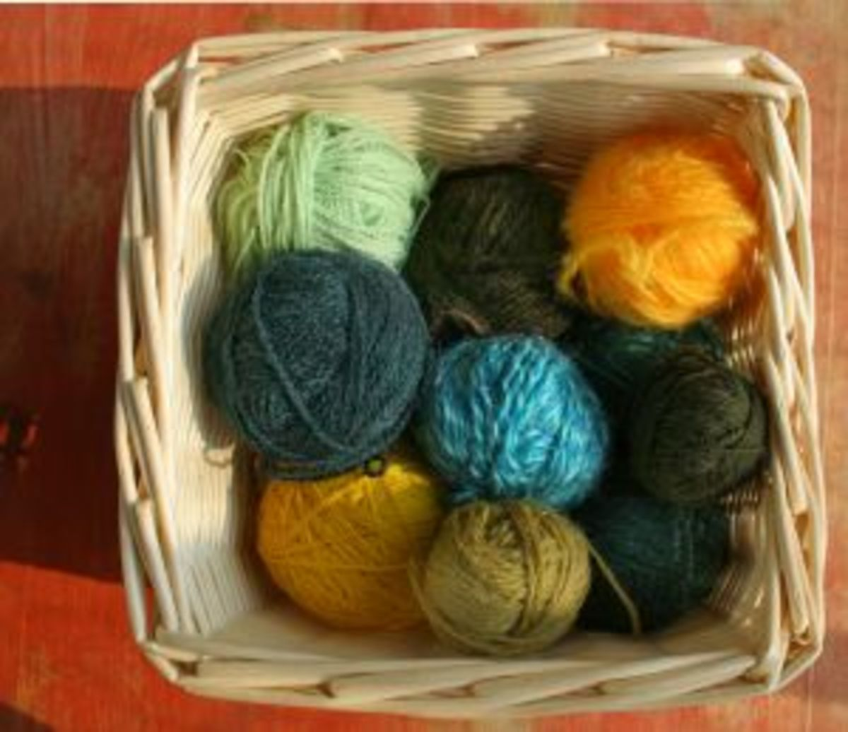 Crochet yarn (comes in a variety of weights and materials)