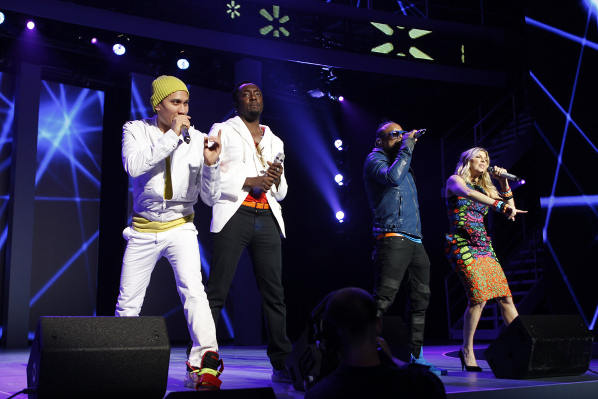 The Black Eyed Peas in concert