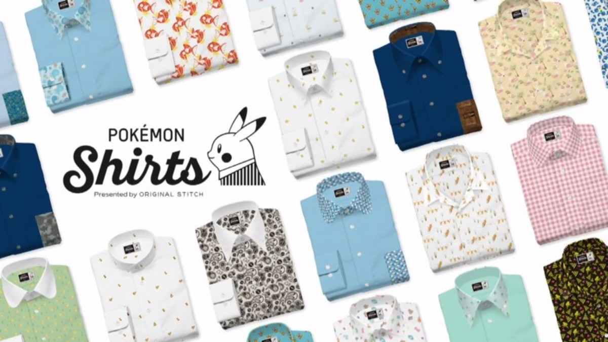 When fashion  Pokémon, this is the result! Dress to impress with Original Stitch's Pokémon apparel.