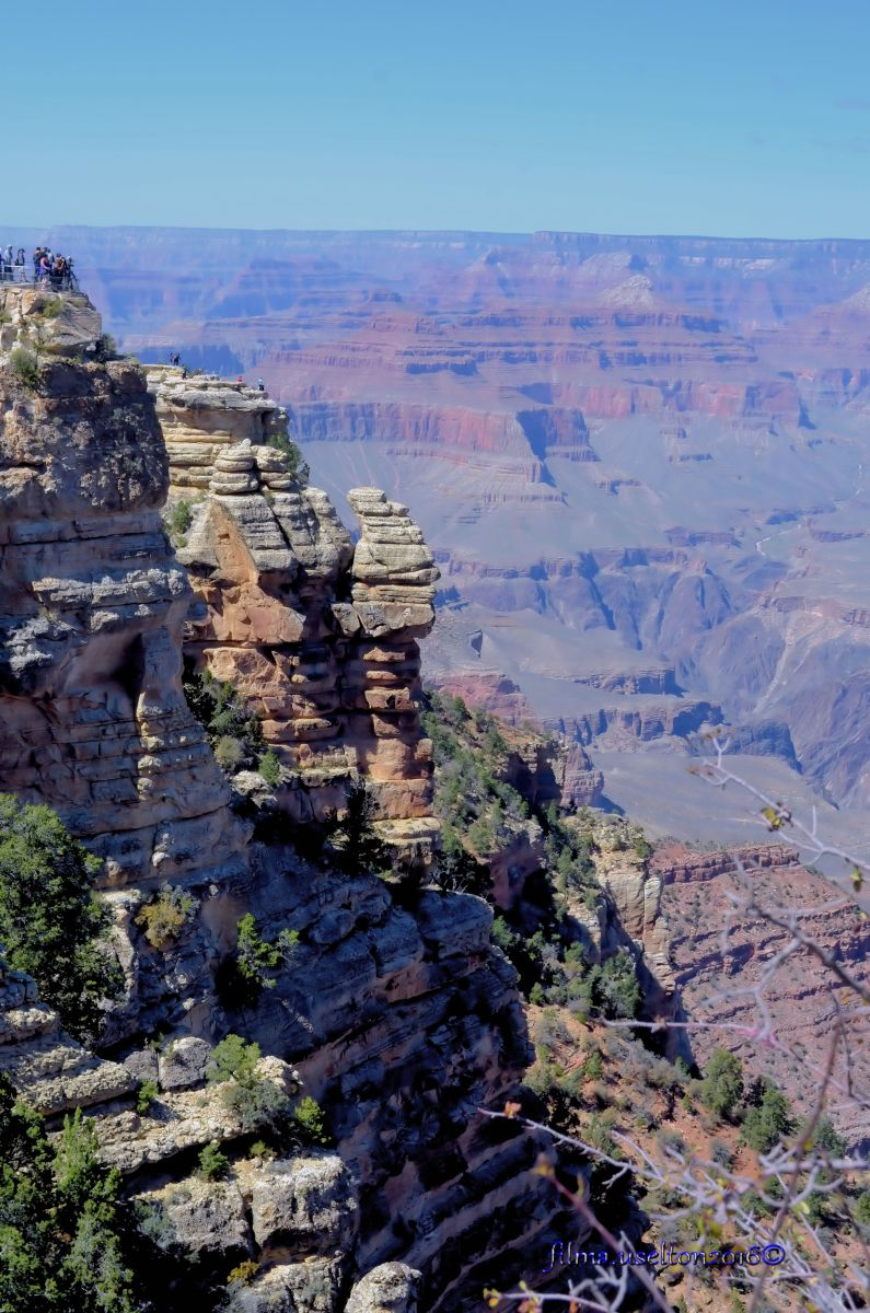 The world famous Grand Canyon in Arizona