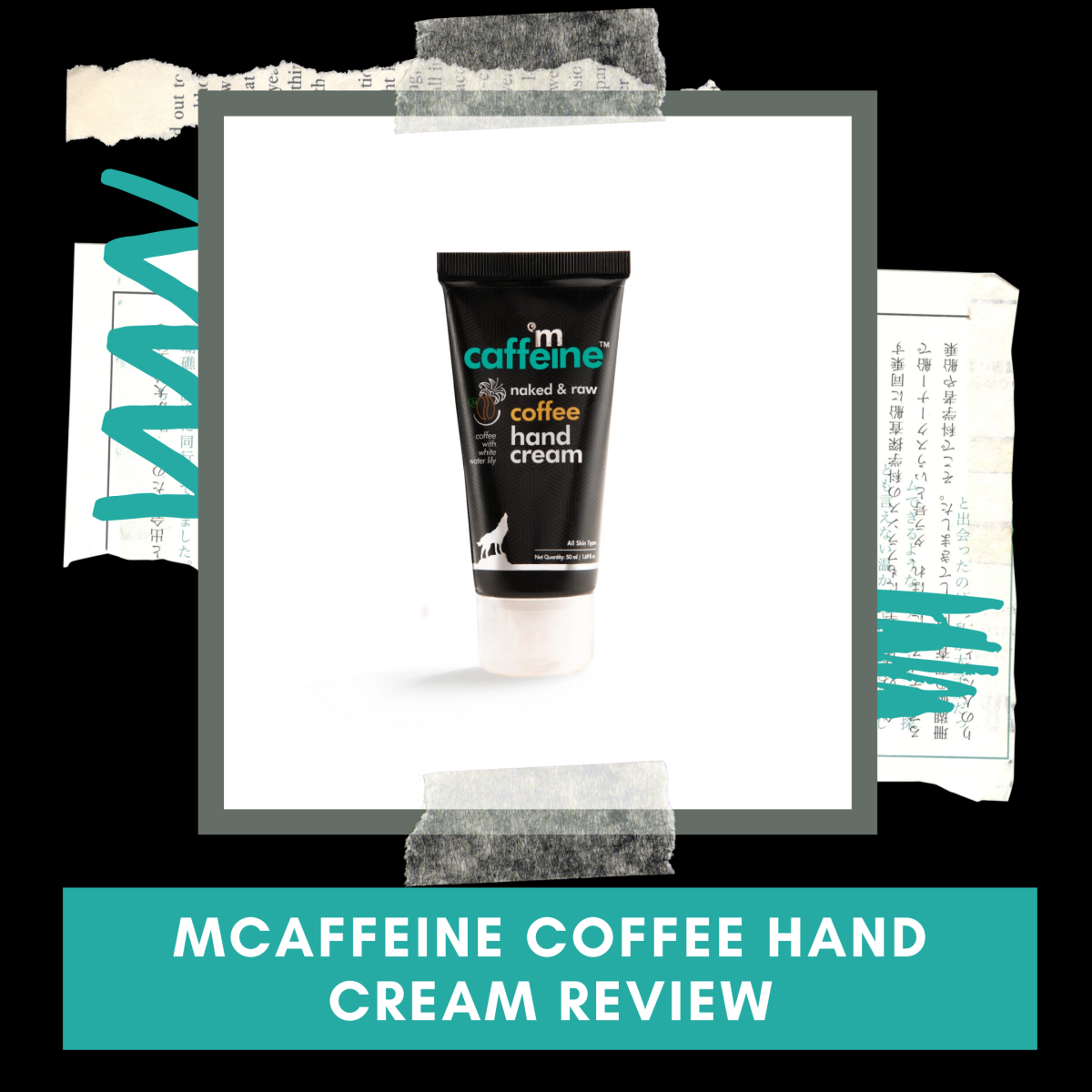 MCaffeine Naked & Raw Coffee Hand Cream Review