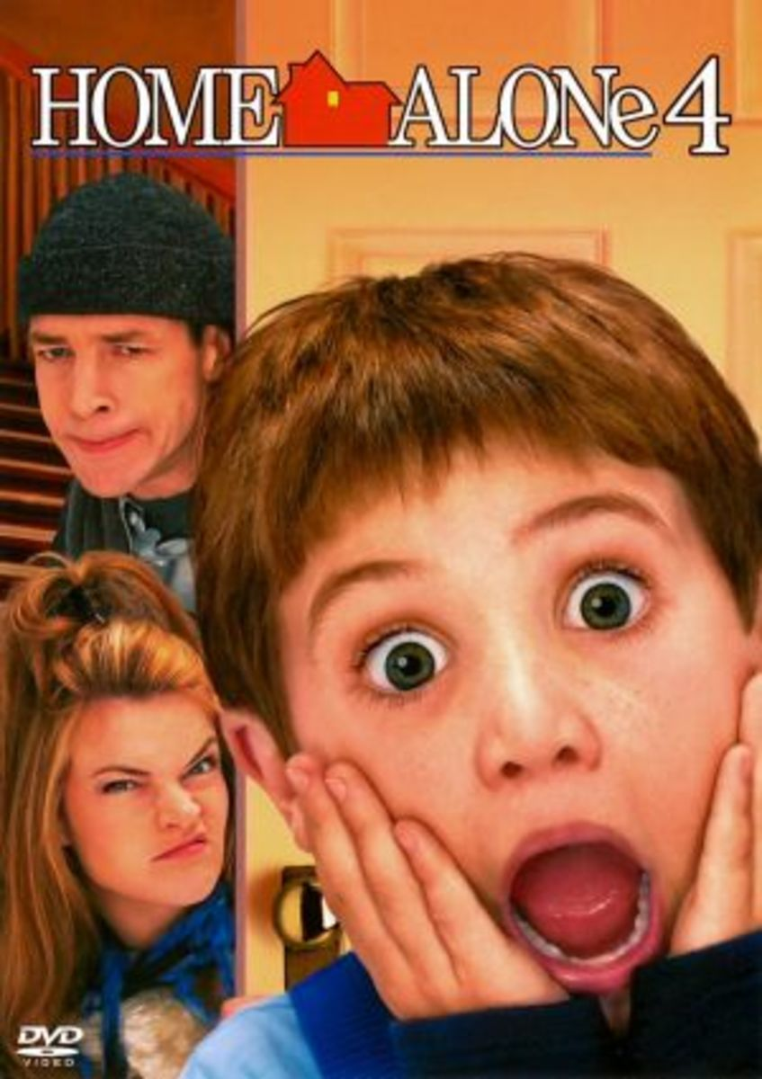 "Movie Review: ""Home Alone 4: Taking Back the House"" (2002)"