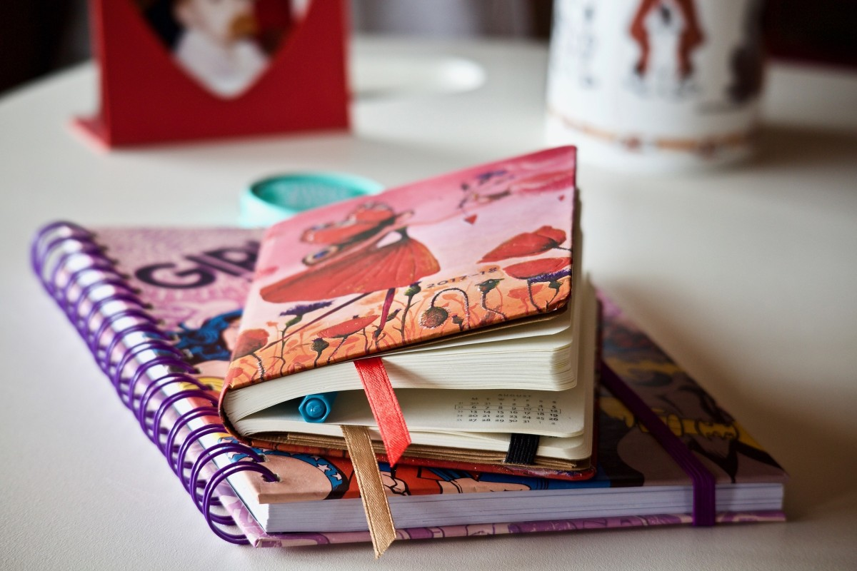 Small notebooks are a great way to dip your feet into a pool of creativity. If you've always thought you didn't have time to write in a journal everyday, a smaller-sized diary might be a good way to go.