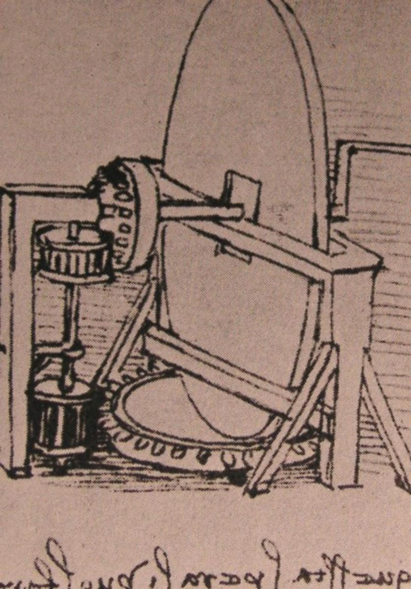 Machine for grinding Convex Lenses