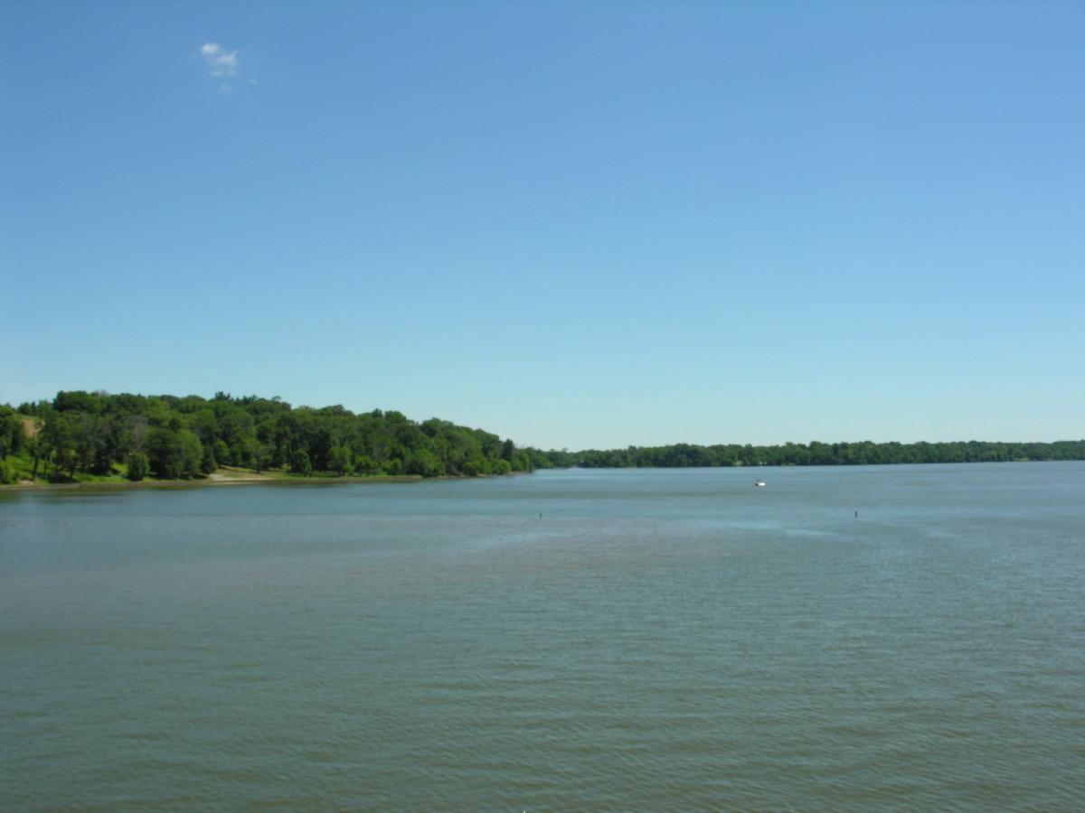 The Potomac River, July 2016.