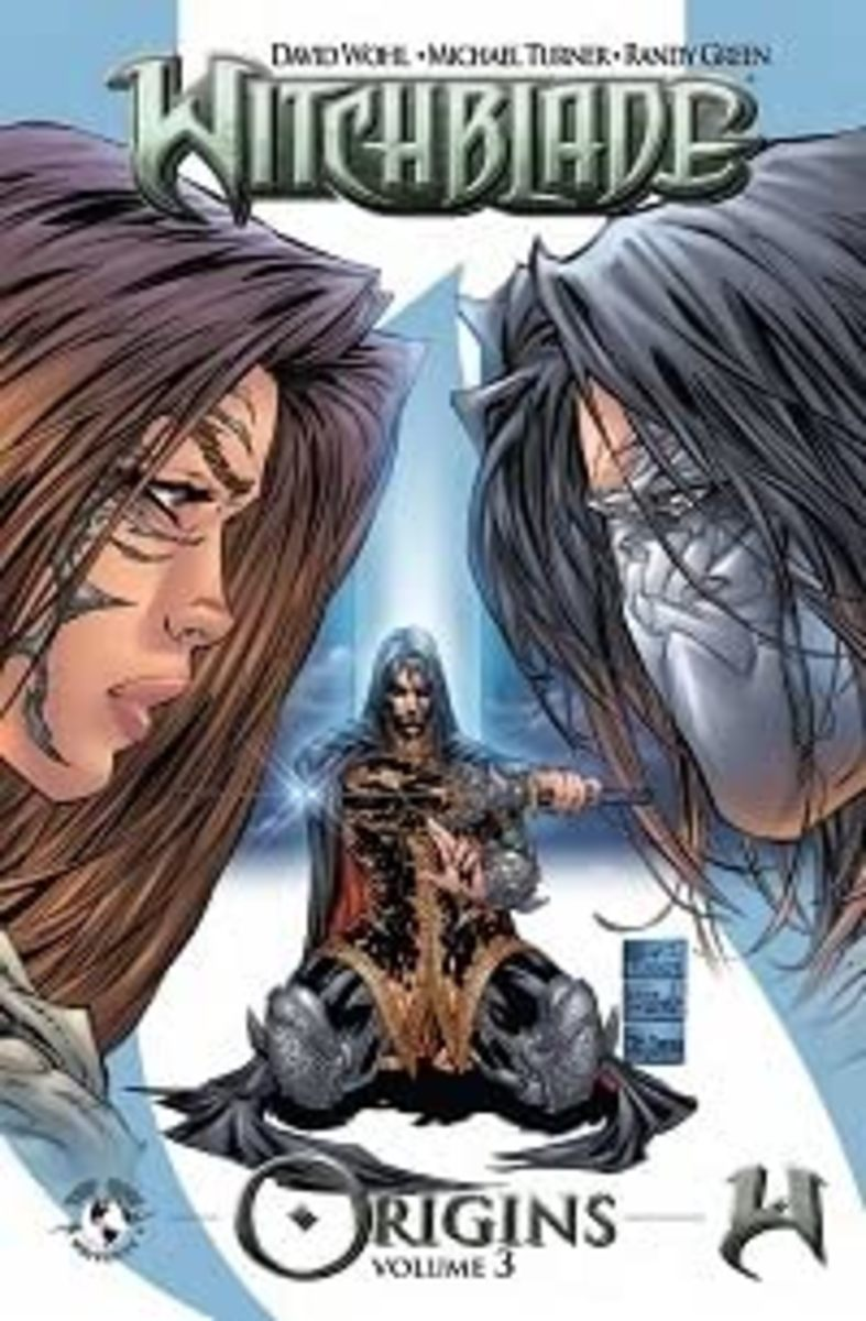Witchblade Origins Vol 3: An Interesting Tale But Not as Exciting as the Last Two Volumes