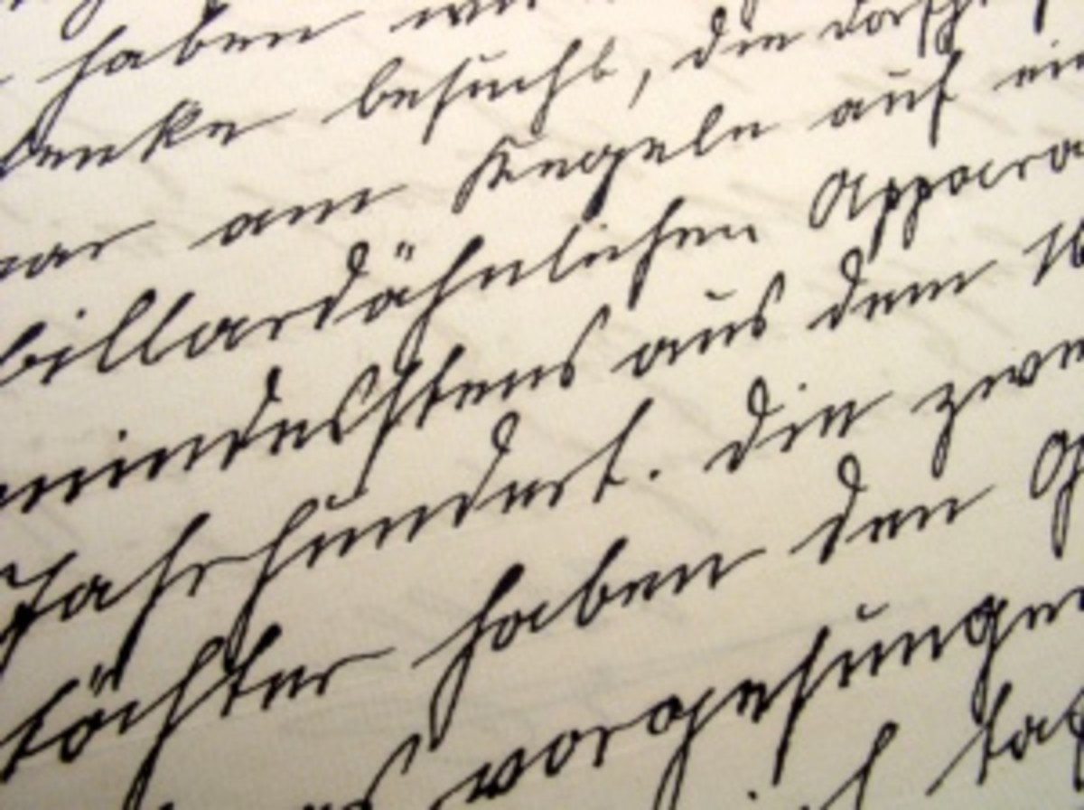 Is your handwriting easy to read?