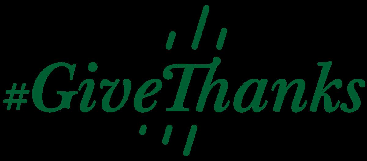 #GiveThanks