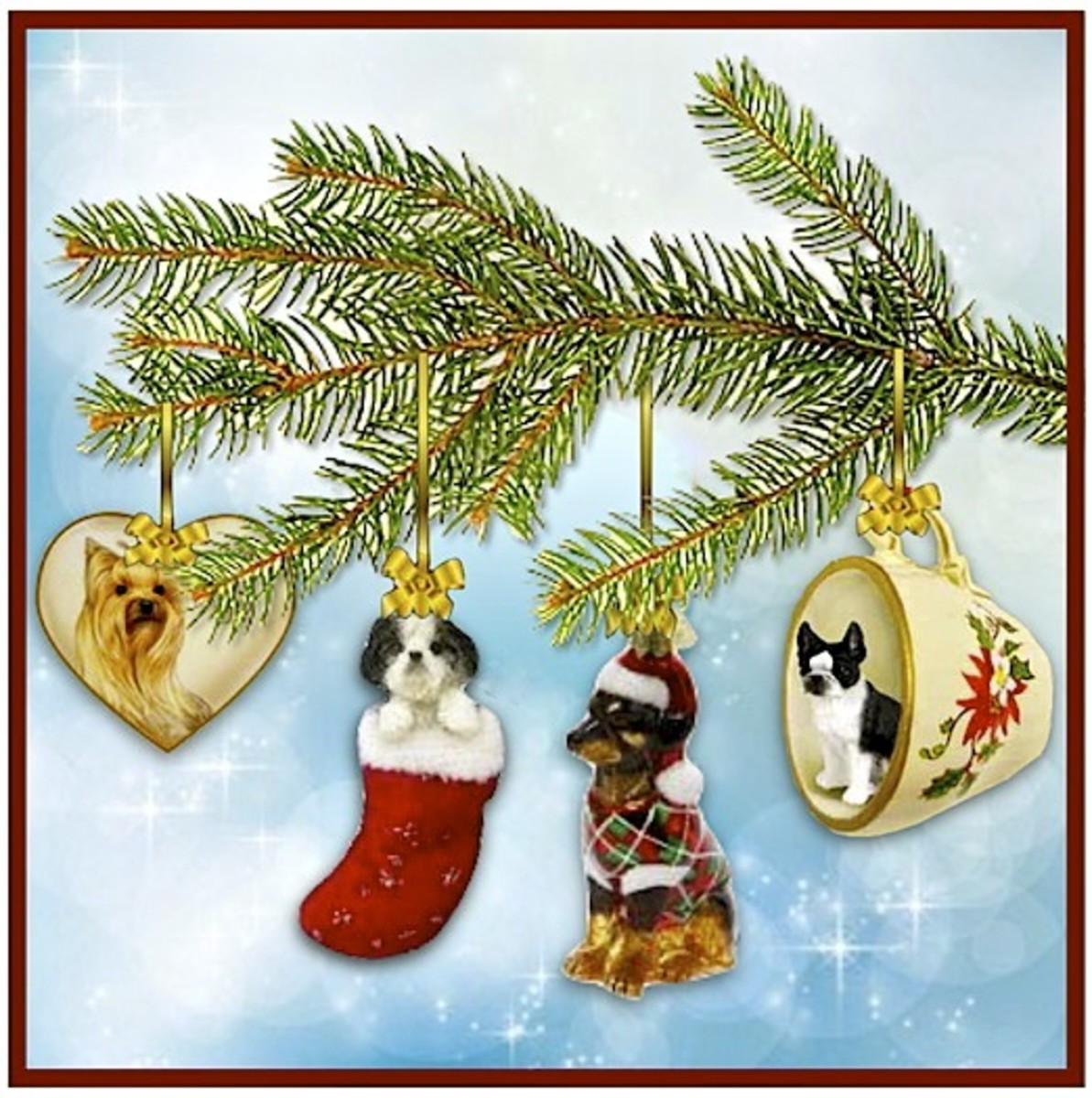 Dog Christmas Decorations