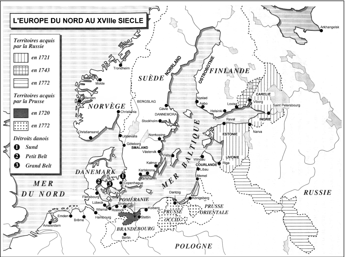 Much of the important Baltic naval supplies sources were found in Russia - a country which the French did not enjoy good relations with during much of the 18th century, causing increased cost and problems to get Riga masts.