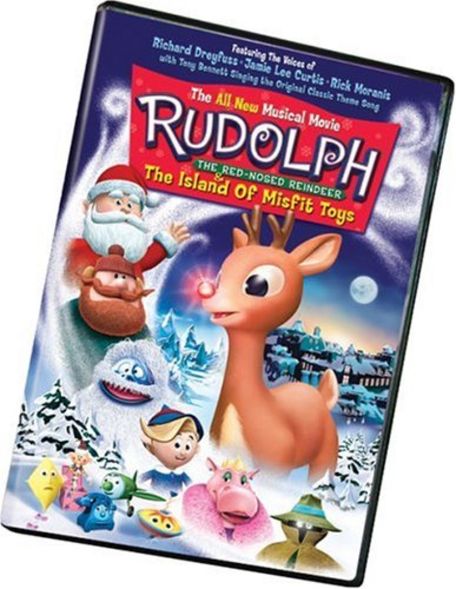 """""""Rudolph the Red Nosed Reindeer & The Island of Misfit Toys"""" DVD"""