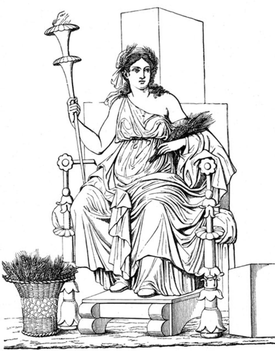 the goddess demeter in greek mythology hubpages Cronus Symbol the goddess demeter in greek mythology