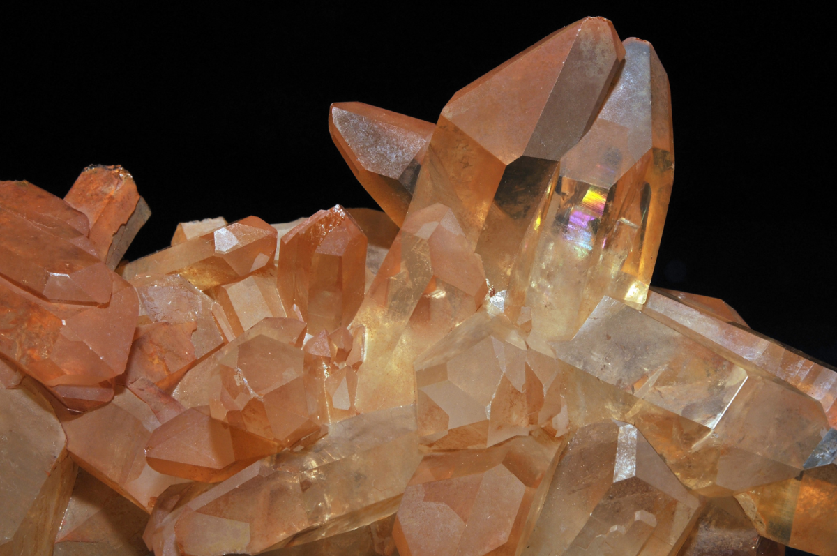 This variety of quartz ecourages learning and expanding your skills.