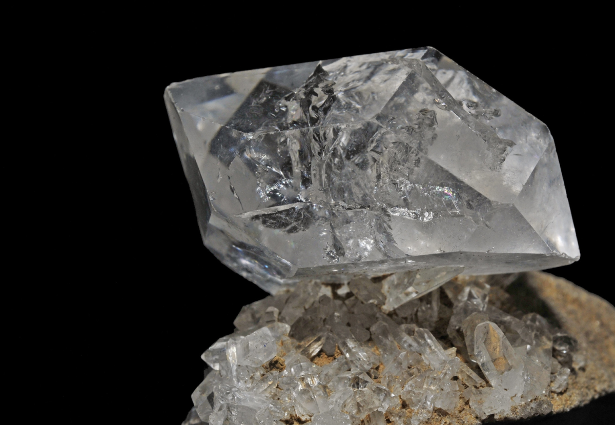 Herkimer diamonds are great for clearing blockages.