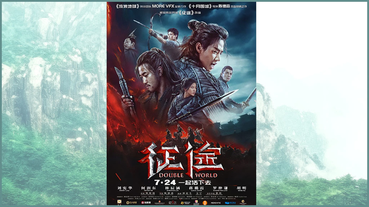Double World is the Chinese version of The Hunger Games and Battle Royale.